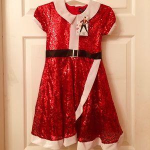 GORGEOUS NWT JOJO SIWA all sequin Christmas dress